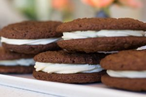 Ginger Molasses Whoopie Pies