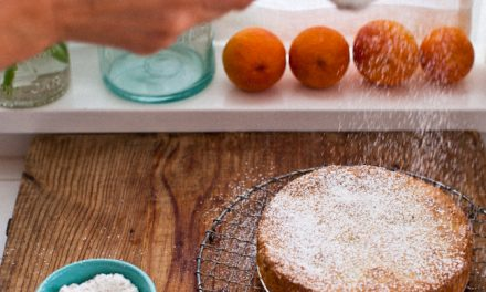 Yummy Supper: Almond Blood Orange Cake