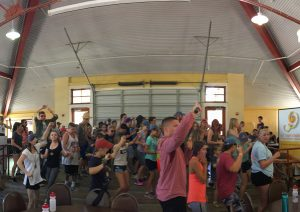 Camp Celiac kids dancing