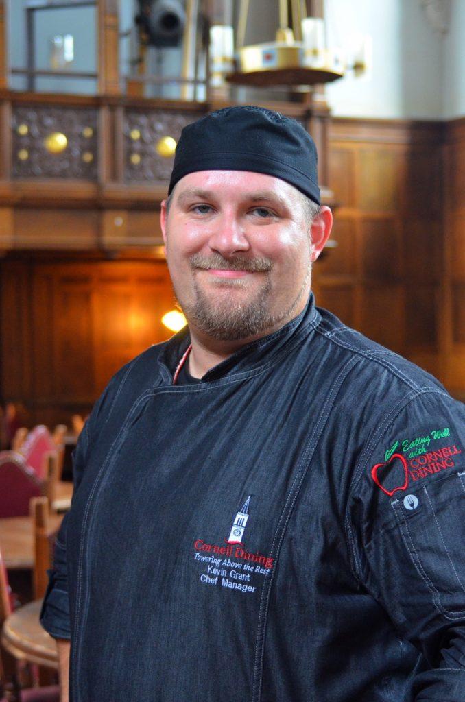 Risley Chef Kevin Grant