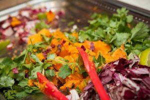 Cilantro yam salad