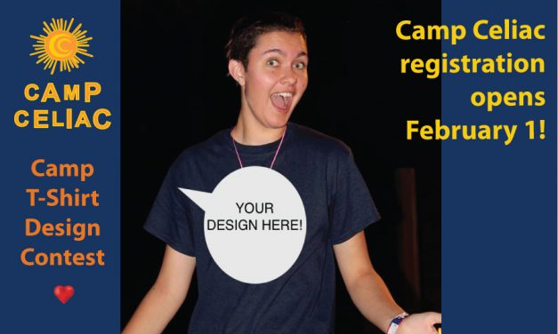 Camp Celiac Registration & T-Shirt Design Contest