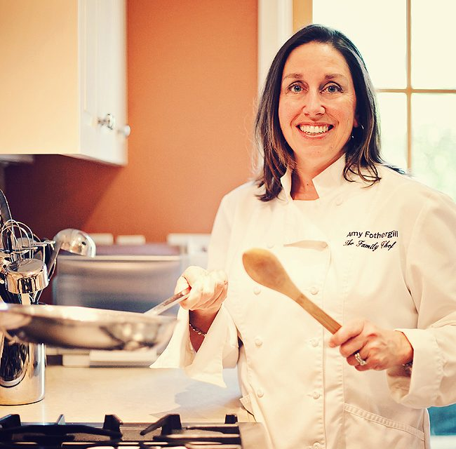 Amy Fothergill on The Warm Kitchen Cookbook